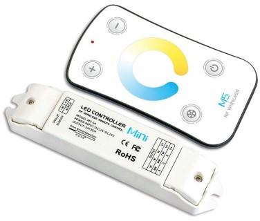 LED Riba pult + juhtplokk LED Riba pult + juhtplokk LTECH Mini 5 CW NW WW dimming pult 12-24V 216W
