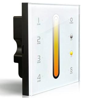 Control panel Control panel LTECH DX6 4 zone, 2.4GHz + DMX512 white 230V
