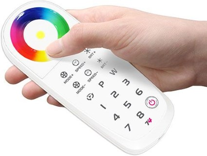 Pult LTECH T4 RF 2.4GHz RGBW Touch remote control 5V