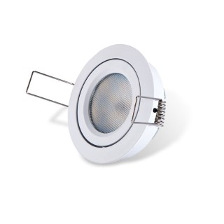 LED downlight PROLUMEN SIMPLEE SMD DIM white round 8W 540lm  140° warm white 3000K