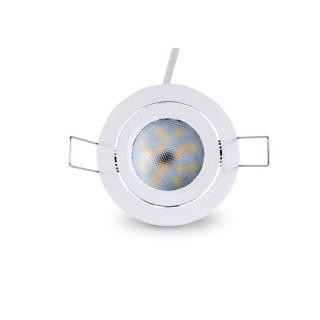 Локальный LED светильник PROLUMEN SIMPLEE SMD DIM белый круглый 8W 540lm CRI82  140° 3000K теплый белый