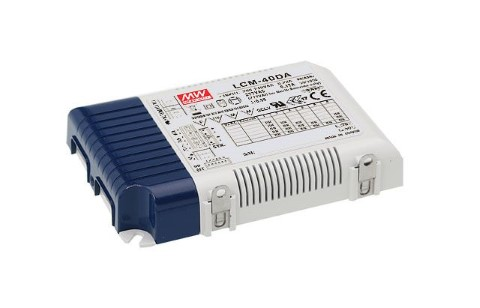 LED driver MEAN WELL 350/500/600/700/900/1050mA LCM-40DA (DALI / PUSH DIM)  40W  IP20