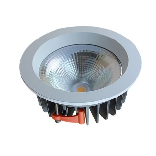 LED downlight LED downlight CDLR white round 230V 30W 3900lm CRI82 60° IP20 3000K warm white