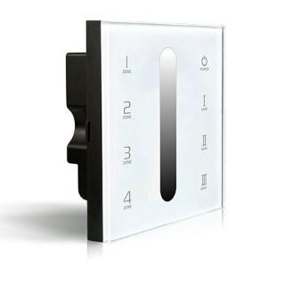 Control panel Control panel LTECH DX5 4 tsooni,  2.4GHz + DMX512 white 230V