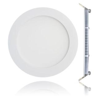 LED Paneel  CR valge ring 18W 1200lm  150° soe valge 3000K