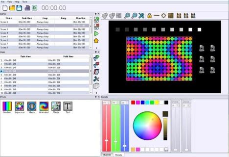 DMX controller CHROMATEQ LPSA-WIFI