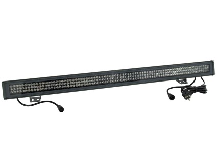 LED wallwasher  LED IP65 T1000 RGB 10mm 40° black  28W  40° IP65 RGB
