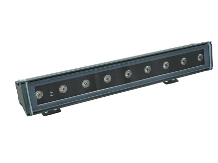 LED wallwasher  LED IP T500 TCL 9x3W 15° black  30W  15° IP65 RGB