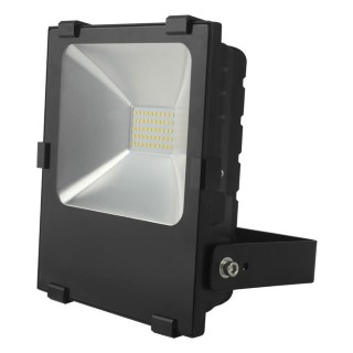 LED floodlight  FL black  20W 2200lm  120° IP65 warm white 2700K