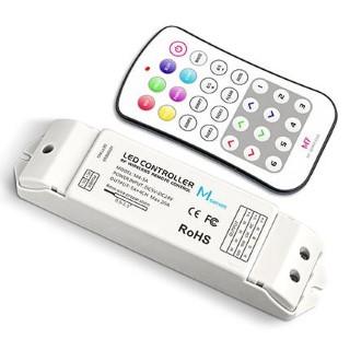 LED Riba pult + juhtplokk LED Riba pult + juhtplokk LTECH Mini 7 RGBW controller valge  5-24V 240/480W