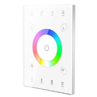 Control panel Control panel LTECH UX8 4 zone, 2.4GHz + DMX512 RGBW white 5V