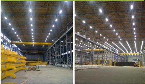 LED industrial site light PROLUMEN T10  180W 26000lm CRI70 120° IP65 4000K pure white