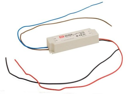 LED блок питания MEAN WELL 12V DC  LPV-35-12 12V  36W  IP67