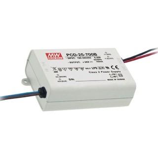 LED Liiteseade LED Liiteseade MEAN WELL 700mA  PCD-40-700B DIM  40W  IP42