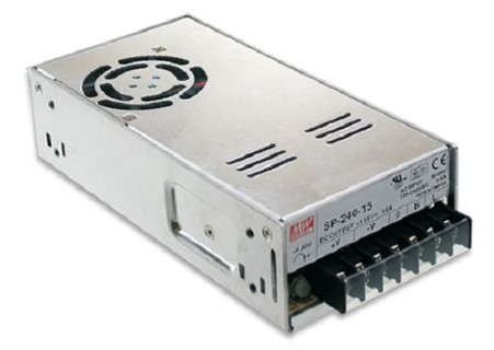 LED power supply unit MEAN WELL 12V DC  SP-240-12  240W  IP20