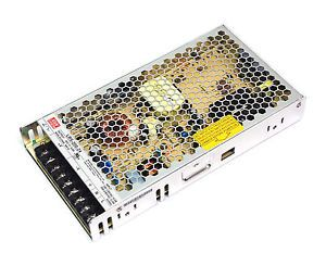 LED power supply unit MEAN WELL 24V DC  RSP-200-24  200W  IP20