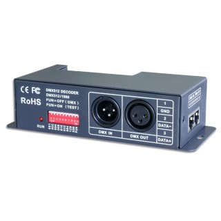 DMX Dimmer DMX Dimmer LTECH LT-840 4 kanalit 4x6A  5-24V 120W/288W/576W