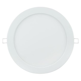 LED panel AIGOSTAR E6 white round 20W 1370lm  160° IP20 warm white 3000K