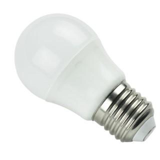 LED bulb LED bulb AIGOSTAR A5 G45 230V 7W 470lm CRI80 E27 280° IP20 3000K warm white
