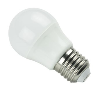 LED bulb LED bulb AIGOSTAR A5 G45 230V 6W 450lm CRI80 E27 280° IP20 3000K warm white