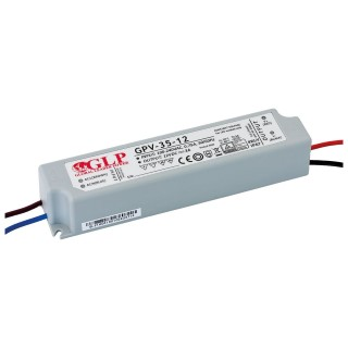 LED Toiteplokk GLP POWER 12V DC GPV-35-12  36W  IP67