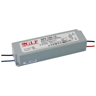 LED power supply unit GLP POWER 12V DC GPV-100-12  100W  IP67