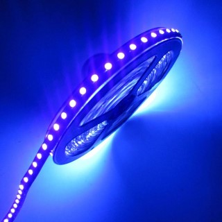 LED strip  3528 60LED 1m silicone coated 12V  4,8W  120° IP44 UV