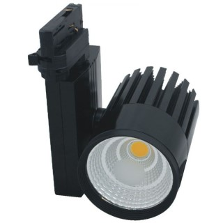 LED track lighting PROLUMEN TL black  30W 2550lm  38° warm white 3000K