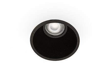 Kohtvalgusti rõngas  FRESH Black downlight must  GU10