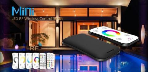 LED strip panel + controller LTECH Mini 7 RGBW controller white  5-24V 240/480W