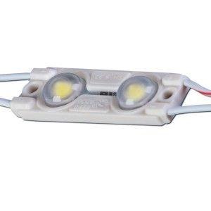 LED Moodul LED Moodul MLD-2835-2W-LENS 12V 42lm 160° IP67 3000K soe valge