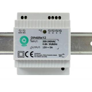 LED power supply unit LED power supply unit POS POWER 12V DC DIN-60-12 230V 60W IP20