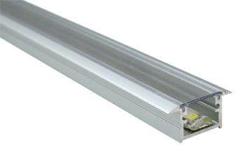 Aluminium profile LUZ NEGRA Berlin XL 2m silvery