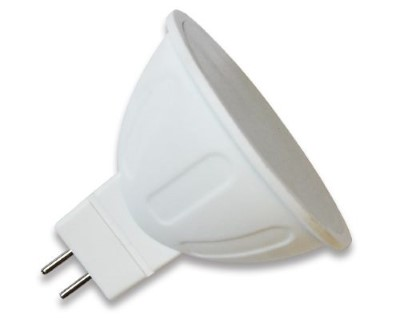 LED bulb LED bulb AIGOSTAR MR16 A5 12V 6W 390lm CRI80 G5.3 120° 3000K warm white