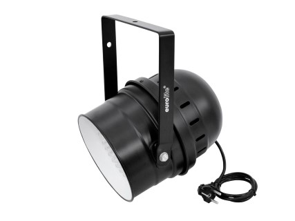 LED Prožektor  LED PAR-64 RGBA 10mm Short black must  27W  36° RGB