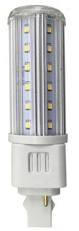 LED Pirn LED Pirn REVAL BULB G24  9W 810lm CRI80 G24 360° 3000K soe valge