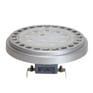 LED Pirn LED Pirn  AR111/G53  12V 15W 1200lm CRI80 G53 30° IP20 3000K soe valge