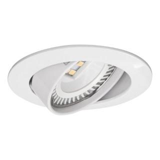 Luminaire frame MR16 UL movable white