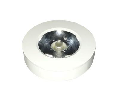 LED cabinet light PROLUMEN FD white round 10W 900lm  30° IP44 warm white 3000K