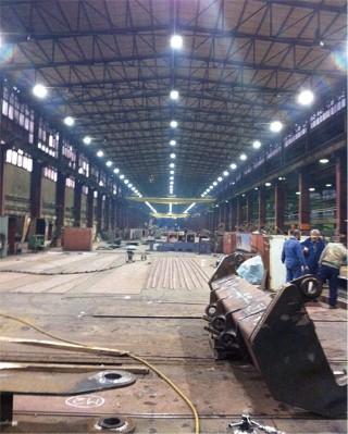 LED Tööstus prožektor PROLUMEN H5 hõbedane  50W 6250lm  IP66 päevavalge 4000K