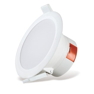LED downlight AIGOSTAR E5 WAVE DOWN LIGHT white round 10W 850lm  90° IP44 pure white 4000K