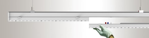 LED valaisin PROLUMEN Linear 1200 valkoinen  60W 9000lm  90° IP20 päivänvalkoinen 4000K