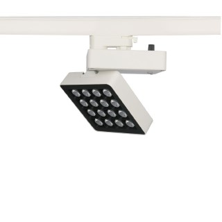 LED track light PROLUMEN London white 230V 30W 3200lm CRI80 40x20° IP20 4000K pure white
