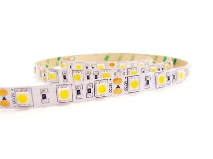 LED strip PROLUMEN 2835 120LED 1m 24V  14,4W  120° IP20 warm + day white 2700K + 6000K