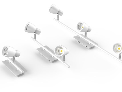 LED laevalgusti PROLUMEN TL13 valge 230V 10W 800lm CRI80 IP20