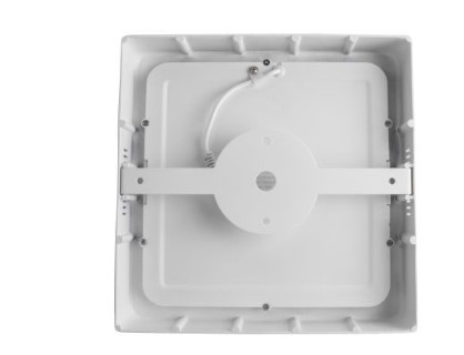 LED ceiling light AIGOSTAR E6 white square 9W 480lm  160° IP20 pure white 4000K