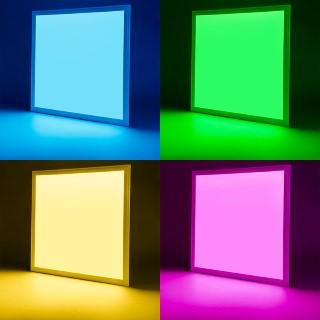 LED Paneel LED Paneel REVAL BULB 600x600 hõbedane  24V 40W CRI80  120° IP20 RGB