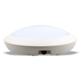 LED dome light  300 white  15W 1200lm  IP66 pure white 4000K