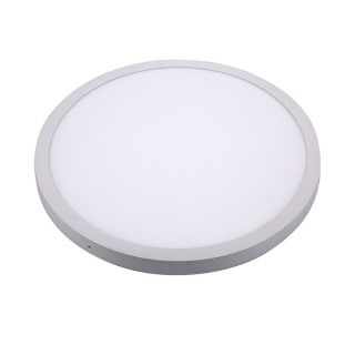 LED ceiling light LED ceiling light PROLUMEN MAYA 600 Ø white round 48W 3600lm CRI80  120° IP20 3000K warm white