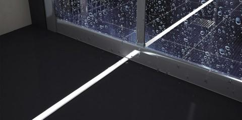 Алюминиевый профиль LUMINES TERRA 2m серебряный